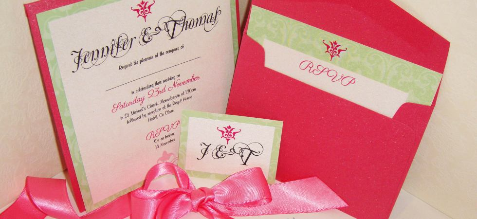 Introducing our Ready-Made Invitations